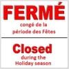 Horaire des Fêtes au CSSS du Haut-St-Laurent et CSSS du Suroît