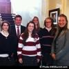 Parlement des jeunes – Des étudiants du Collège Héritage rencontrent Pierre Moreau