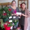Une boutique de fleurs de Huntingdon reçoit du soutien fincancier du CLD