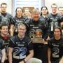 Le Noir et Or, champion 2012 du football collégial à la mairie