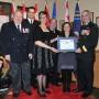 Le Collège de Valleyfield félicité par les Forces canadiennes