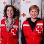 Des bénévoles de la Croix-Rouge Vaudreuil-Dorion en Alberta