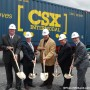 CSX – La construction du terminal intermodal va bon train