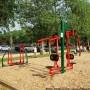 Un parc d'exercice pour s'entraîner en plein air