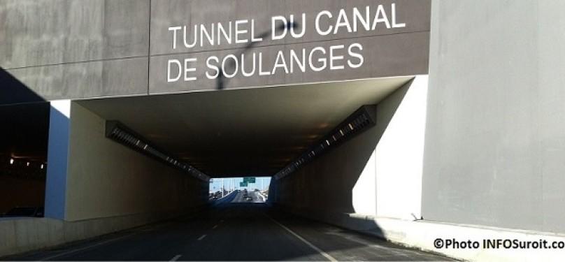 Autoroute 30 : des fermetures du tunnel Soulanges en direction Ouest