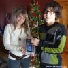 Simon Deschamps gagne une tablette électronique
