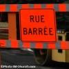 Travaux pour retirer la voie ferrée sur Jacques-Cartier