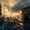 Violent incendie à Saint-Stanislas-de-Kostka