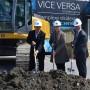 Début de la construction du complexe résidentiel Vice Versa