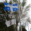 Décès de Jacques Parizeau: drapeaux en berne à Châteauguay