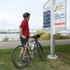 Travaux sur 15 km de la piste cyclable du Parc régional