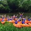15 jeunes vivent une excursion de 4 jours en kayak