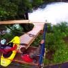 Compétition de kayak freestyle pour la sélection canadienne
