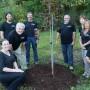 Plantation d'arbres pour commémorer les 20 ans du Parc régional