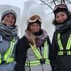 Six étudiants en Arts visuels du Collège à Rivière-du-Loup