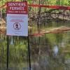 Inondations – Des sentiers à reconstruire sur l'île Saint-Bernard