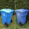Possibilité d'agrandir son bac bleu pour les matières recyclables