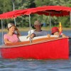 Des bateaux électriques vintage en location à Valleyfield