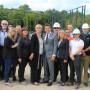 Le nouveau Sportplex en construction : un chantier actif