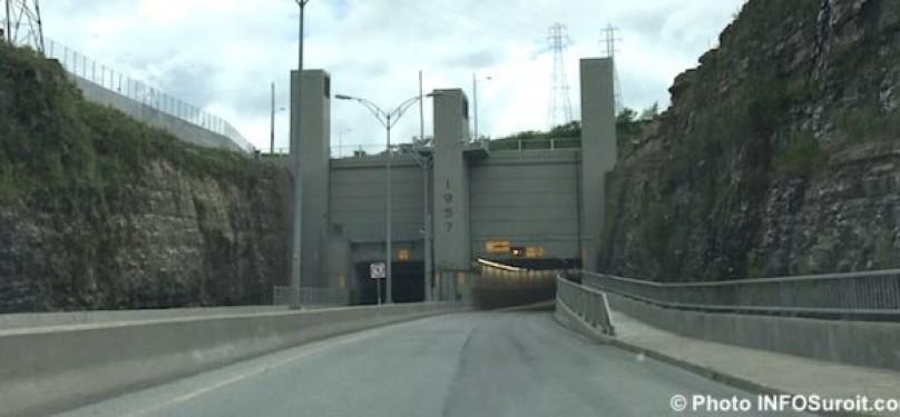 Fermeture complète du tunnel de Melocheville vers Beauharnois les 1er et 2 juin