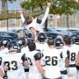 Football collégial : Le Noir et Or champion de la saison régulière