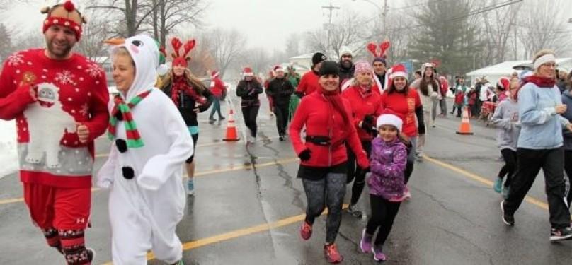 La Course/Marche de Rudolphe à Ormstown pour une bonne cause