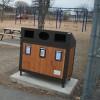 Deux nouveaux ilots de récupération au parc-école Sacré-Coeur