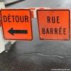 Travaux d'urgence – fermeture à prévoir sur le chemin Larocque