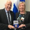 Jacques Vanier reçoit la Médaille de l'Assemblée nationale