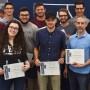 Remise de bourses d'excellence à des étudiants en Génie électrique