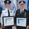 Service de police de Ville de Mercier : le nouvel état-major est assermenté