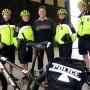 Retour des policiers à vélo du Service de police de Châteauguay