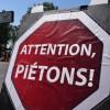 Attention, piétons ! Opération de sensibilisation à Saint-Stanislas-de-Kostka