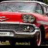 Des voitures d'autrefois et de collection au parc Delpha-Sauvé