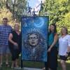 À la rencontre des voisines : dévoilement à Mercier de l'œuvre de Sonia Laurin