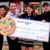 13 047 $ pour la Fondation de l'Hôpital grâce aux Biscuits Sourires de Tim Hortons