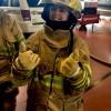 Pompiers d'un jour : quatre jeunes s'entraînent à la caserne!
