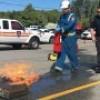 Sécurité incendie – des formations en entreprise avec les pompiers de Châteauguay