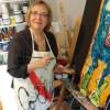 Le miroir capricieux : exposition d'oeuvres de Diane Collet au Musée régional