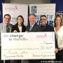 A big donation to the Hôpital du Suroit Foundation