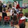 La magie de Noël de passage à l'école Sacré-Coeur