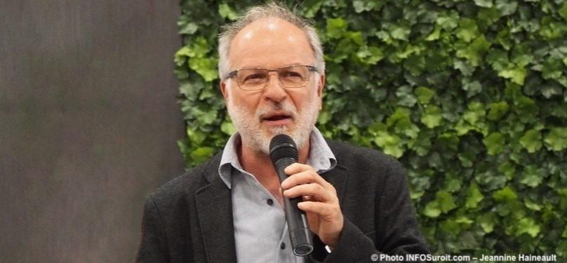 Bruno Tremblay, maire de Beauharnois, vise un second mandat