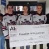 Les Grenadiers amassent 5 000 $ pour la Fondation Anna-Laberge.