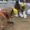 Inondations : Les pompiers et les cols bleus de Châteauguay en renfort