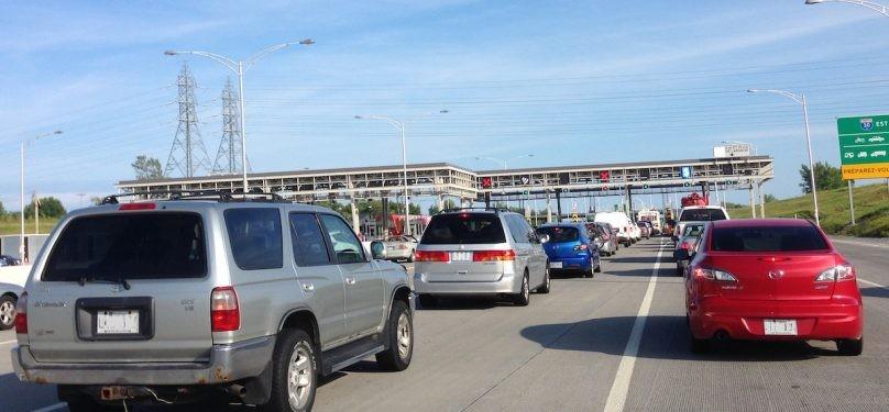 Grève des préposés au péage de l'autoroute 30