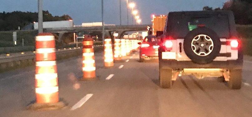 Des fermetures de nuit de l'autoroute 40 à Vaudreuil-Dorion à prévoir