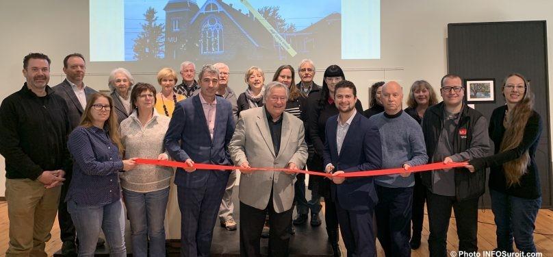 Inauguration officielle des travaux d'amélioration au MUSO