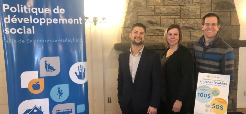Salaberry-de-Valleyfield diversifie les subventions offertes pour les produits hygiéniques lavables