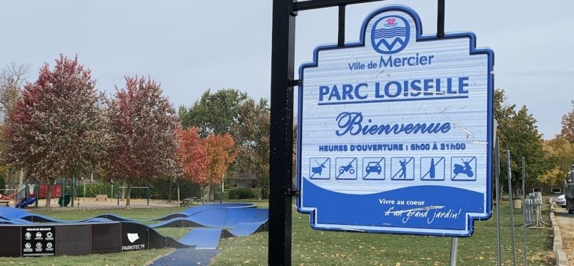 Réouverture des modules de jeux dans cinq parcs de la Ville de Mercier