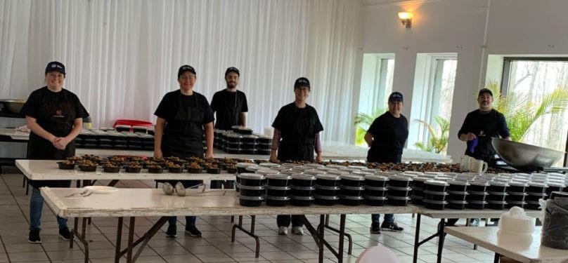 Les Marmitons de Mercier ont livré plus de 1000 repas